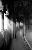 Sacre Coeur. Lightsbeams shines through in the dome of Sacre Coeur Stock Photo