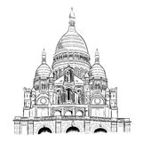 Sacre coeur Royalty Free Stock Photos
