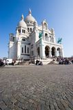 Sacre Coeur. Basilica of the Sacre Coeur on Montmartre, Paris, France Royalty Free Stock Photo
