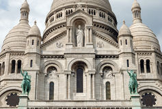 Sacre Coeur. Stock Photo