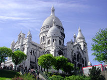 Sacre-Coeur. In Paris, France Royalty Free Stock Photos