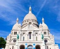 Sacre Coeur在巴黎 免版税库存照片