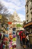 Sacre Coeur Royaltyfri Foto