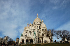 The Sacre Coeur Royalty Free Stock Photo