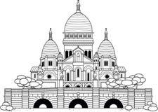Sacre Coeur Стоковые Изображения
