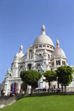 Sacre-Coeur. The Sacre-Coeur Basilica in Paris, France stock photography