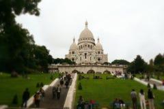 Sacre Coeur Lizenzfreie Stockfotos