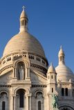 The Sacre Coeur. Basilica in Montmartre - Paris, France royalty free stock photos