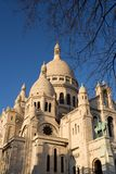 The Sacre Coeur. Basilica in Montmartre - Paris, France stock photos