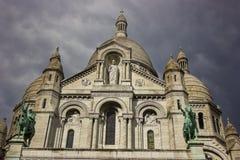 Sacre-Coeur Foto de Stock