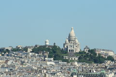 Sacre-coeur basilic in Paris Stock Photo