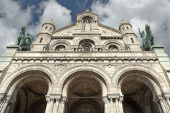 Sacre Coeur Basilica Stock Photos