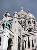 Sacre Coeur Basilica. At Monmartre Royalty Free Stock Photos