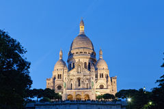 Sacre-Coeur Basilica Stock Photography