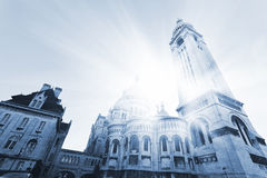 Sacre Coeur Basilica Royalty Free Stock Photography