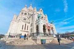 Sacre-Coeur Basilica Royalty Free Stock Photos