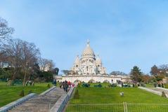 Sacre-Coeur Basilica Royalty Free Stock Photo