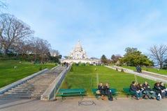 Sacre-Coeur Basilica Royalty Free Stock Image