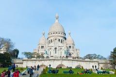 Sacre-Coeur Basilica Royalty Free Stock Photography