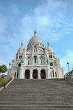 Sacre-Coeur basilica, Montmartre, Paris Royalty Free Stock Images