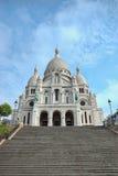 Sacre-Coeur basilica, Montmartre, Paris. Sacre-Coeur basilica (Basilica of the Sacred Heart of Jesus), Montmartre, Paris royalty free stock images