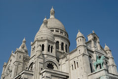 The Sacre Coeur Royalty Free Stock Photos