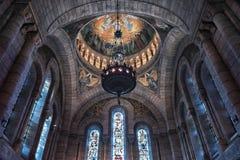 Sacre Coeur basilica in Montmartre Paris Stock Photography