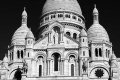 Sacre-Coeur Basilica on Montmartre, Paris Royalty Free Stock Photo