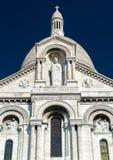 Sacre-Coeur Basilica on Montmartre, Paris Stock Photo