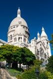 Sacre-Coeur Basilica on Montmartre, Paris Royalty Free Stock Photography