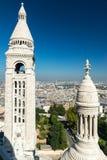 Sacre-Coeur Basilica on Montmartre, Paris Stock Image
