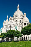Sacre-Coeur Basilica on Montmartre, Paris Royalty Free Stock Photos