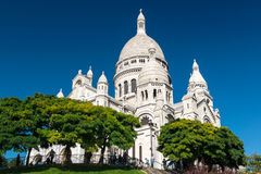 Sacre-Coeur Basilica on Montmartre, Paris Royalty Free Stock Images