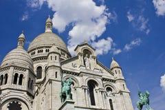 Sacre-Coeur Basilica, Montmartre, Sacred Heart, Paris I Stock Photography