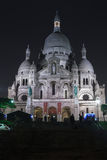 Sacre Coeur Basilica in Montmatre Royalty Free Stock Photo