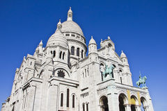 Sacre-Coeur Basilica, Paris Royalty Free Stock Images