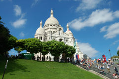 The Sacre-Coeur Basilica, Paris Royalty Free Stock Photography