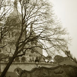 The Sacre-Coeur Basilica. Paris Royalty Free Stock Photos