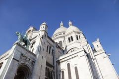 Sacre Coeur Basilica in Paris Stock Image