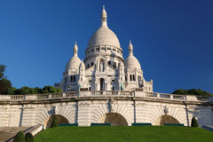 Sacre-Coeur Basilica in Paris Stock Photo