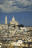 The Sacre-Coeur basilica.Paris. Royalty Free Stock Photo