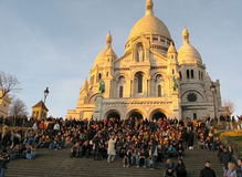 Sacre-Coeur Basilica, Paris Stock Photography