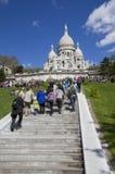 Sacre Coeur Basilica in Paris, France Royalty Free Stock Photos