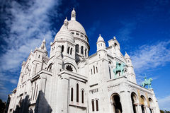 Sacre-Coeur Basilica. Paris, France. Royalty Free Stock Image