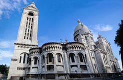 Sacre-Coeur Basilica. Paris, France. Royalty Free Stock Photo