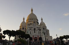 The Sacre Coeur basilica, Paris, France Royalty Free Stock Photo
