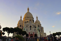 The Sacre Coeur basilica, Paris, France Royalty Free Stock Image