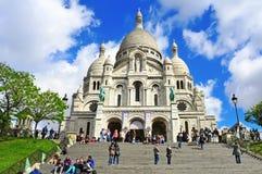 Sacre-Coeur Basilica in Paris, France Stock Photo