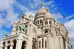 Sacre-Coeur Basilica in Paris, France Royalty Free Stock Photography