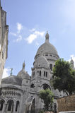Sacre Coeur Basilica in Paris Stock Photo